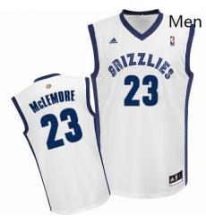 Mens Adidas Memphis Grizzlies 23 Ben McLemore Swingman White Home NBA Jersey