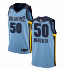 Mens Nike Memphis Grizzlies 50 Zach Randolph Swingman Light Blue NBA Jersey Statement Edition