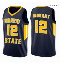 Murray State Racers 12 Ja Morant Jersey Basketball Black