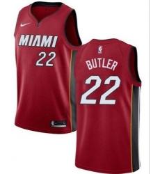 Men Miami Heat Jimmy Butler Red Swingman Jersey