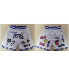 Men Muti Teams White All Star Just Don With Pocket Swingman Shorts