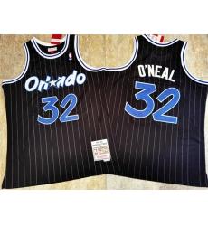 Magic 32 Shaquille O 27Neal Black 1994 95 Hardwood Classics Jersey