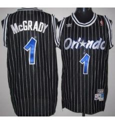 Men Adidas Magic 1 Tim Hardway Black Throwback NBA Stitched Jersey