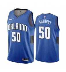 Men Nike Orlando Magic 50 Cole Anthony Blue NBA Swingman Statement Edition 2019 2020 Jersey