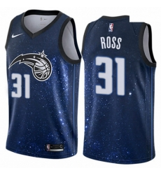 Mens Nike Orlando Magic 31 Terrence Ross Authentic Blue NBA Jersey City Edition