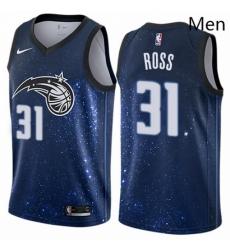 Mens Nike Orlando Magic 31 Terrence Ross Swingman Blue NBA Jersey City Edition