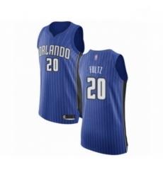 Mens Orlando Magic 20 Markelle Fultz Authentic Royal Blue Basketball Jersey Icon Edition