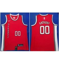 Blazers 0 Damian Lillard Red 2019 20 Nike Swingman Jersey