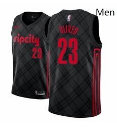 Men NBA 2018 19 Portland Trail Blazers 23 Cameron Oliver City Edition Black Jersey