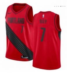 Mens Nike Portland Trail Blazers 7 Brandon Roy Swingman Red Alternate NBA Jersey Statement Edition