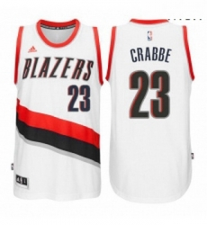 Portland Trail Blazers 23 Allen Crabbe New Swingman Home White Jersey