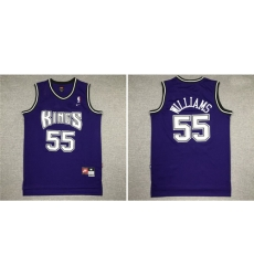 Kings 55 Jason Williams Purple Nike Swingman Jersey