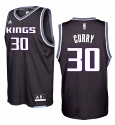 Sacramento Kings 30 Seth Curry 2016 17 Seasons Black Alternate New Swingman Jersey