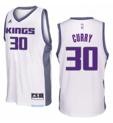 Sacramento Kings 30 Seth Curry 2016 17 Seasons White Home New Swingman Jersey