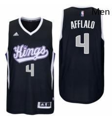Sacramento Kings 4 Arron Afflalo Alternate Black New Swingman Jersey