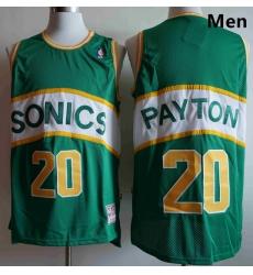Men Seattle SuperSonics Gary Payton 20 Green Mitchell Ness Jersey