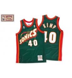 Seattle SuperSonics 1995 - 1996 Road Jersey - Shawn Kemp