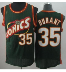 Seattle Supersonic 35 Kevin Durant Green Revolution 30 NBA Basketball Jerseys-2