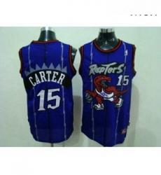 Mens Nike Toronto Raptors 15 Vince Carter Authentic Purple Throwback NBA Jersey