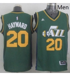 Revolution 30 Jazz 20 Gordon Hayward Green Stitched NBA Jerse
