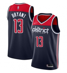 Wizards  13 Thomas Bryant Navy Blue Basketball Swingman Statement Edition 2019 2020 Jersey