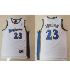 Wizards 23 Michael Jordan White Nike Swingman Jersey