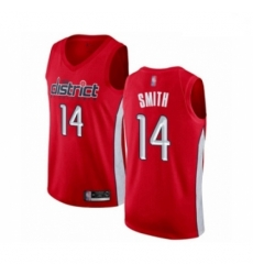 Youth Washington Wizards Ish Smith Red Swingman Jersey Earned Edition