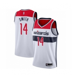 Youth Washington Wizards Ish Smith Swingman White Basketball Jersey Association Edition