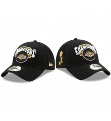 Los Angeles Lakers 2020 NBA Finals Champions Black 9TWENTY Adjustable Hat