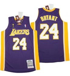 Men Los Angeles Lakers 8 Kobe Bryant Blue 2008 09 Throwback Jerseys