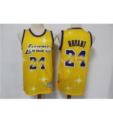 Men Los Angeles Lakers Kobe Bryant 24 Full Stars Limited Jersey
