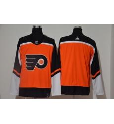 Men Philadelphia Flyers Blank Orange 2020 21 Reverse Retro Adidas Jersey