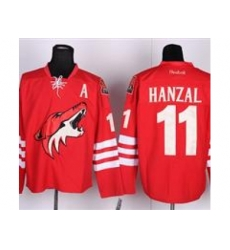 NHL Jerseys Phoenix Coyotes #11 HANZAL red Jersey