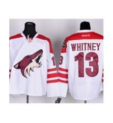NHL Jerseys Phoenix Coyotes #13 WHITNEY white Jersey