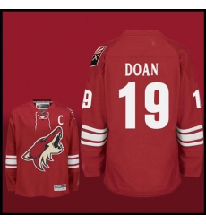 RBK Phoenix Coyotes #19 DOAN Red jersey
