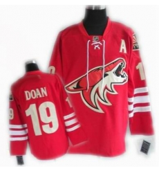 cheap Phoenix Coyotes jersey #19 DOAN jersey red