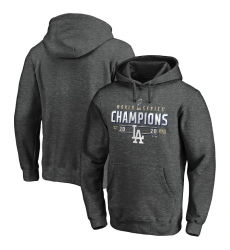 Men Los Angeles Dodgers 2020 World Series Champions Locker Room Big  26 Tall Pullover Hoodie Charcoal