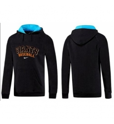 MLB Men Nike San Francisco Giants Pullover Hoodie BlackBlue