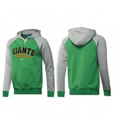 MLB Men Nike San Francisco Giants Pullover Hoodie GreenGrey