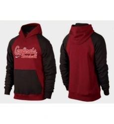 MLB Men Nike St Louis Cardinals Pullover Hoodie RedBrown