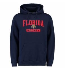 NHL Mens Florida Panthers Rinkside City Pride Pullover Hoodie Navy