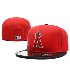 Los Angeles Angels Fitted Cap 004