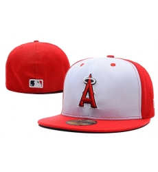 Los Angeles Angels Fitted Cap 005