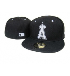 Los Angeles Angels Fitted Cap 007
