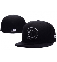 Los Angeles Dodgers Fitted Cap 005
