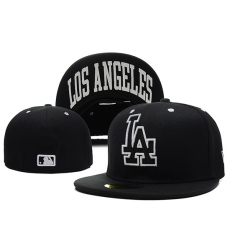 Los Angeles Dodgers Fitted Cap 010