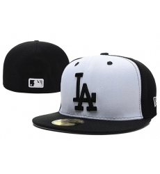 Los Angeles Dodgers Fitted Cap 014