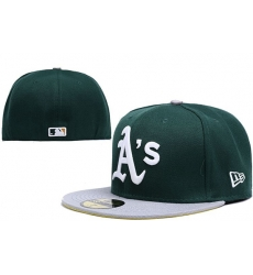 Oakland Athletics Fitted Cap 003