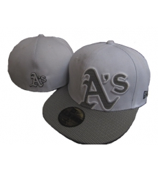 Oakland Athletics Fitted Cap 005