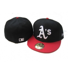 Oakland Athletics Fitted Cap 006
